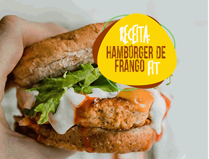 HAMBURGER DE FRANGO FIT